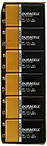 Duracell 9V Batteries, 6 Count