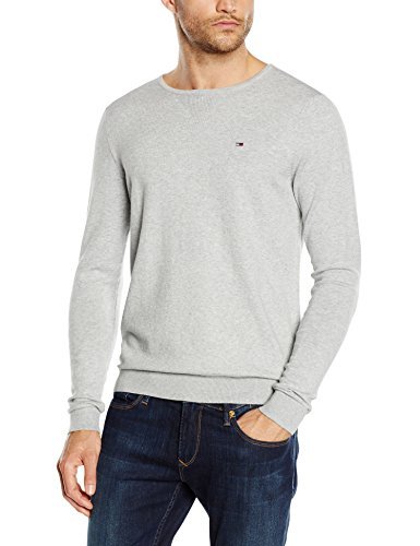 hilfiger-denim-original-crew-neck-felpa-uomo-grigio-lt-grey-htr-038-x-large