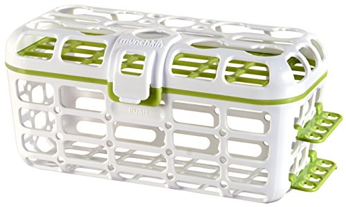 Munchkin 14301 Deluxe Dishwasher Basket (Colors May Vary)