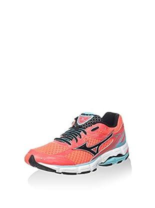 Mizuno Zapatillas de Running Wave Connect Wos (Rojo)