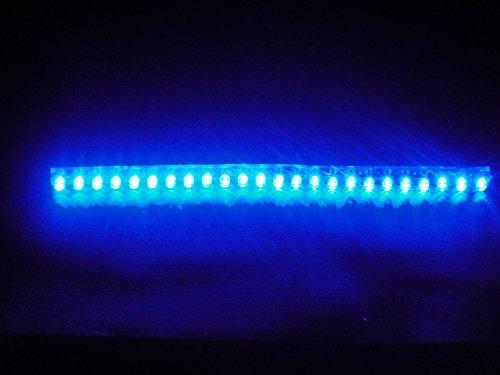 24個24cmブルー青LEDシリコンチューブ