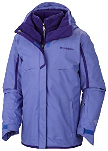 Columbia Girl's Bugaboo Interchange Jacket, Purple Lotus, Medium