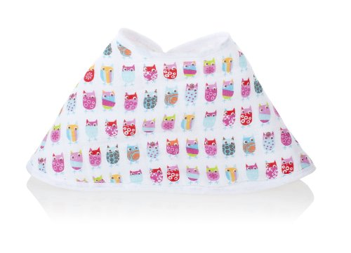 Zutano For Aden By Aden + Anais 100% Cotton Muslin Burpy Bib, Walk In The Park