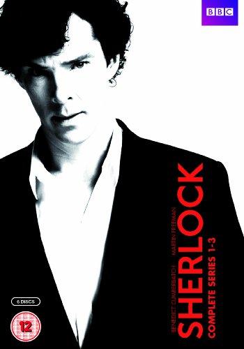 Sherlock - Series 1-3 [DVD]