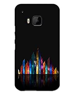 WEB9T9 Htc One M9Back Cover Designer Hard Case Printed Cover
