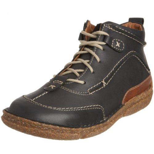Josef Seibel Women's Nikki Black Combi Ankle Boot 85026 39 UK