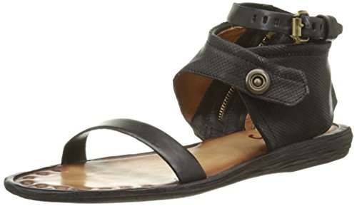 AirstepBenny - Sandali alla caviglia Donna , Nero (Noir (Nero)), 41