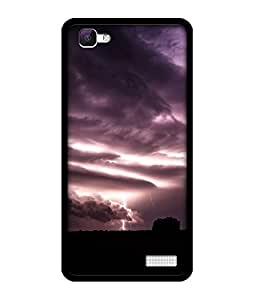 Chnno 2d abstract Printed Back Cover For Vivo V1 No- 1076