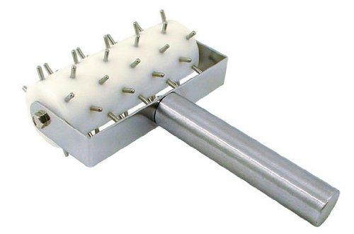 Update International RD-5 Stainless Steel Pizza Roller Docker, 8-Inch