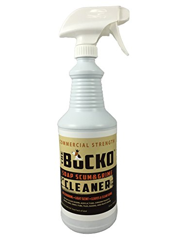 The BuckoTM Soap Scum Grime Remover Bathroom Shower Cleaner 32