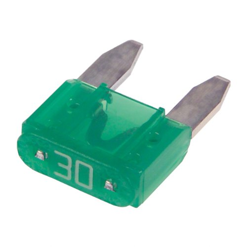 30 AMP MINI CAR BLADE FUSE PACK OF 50
