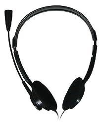 ADNET AD-301 on-ear Headphones (Black)