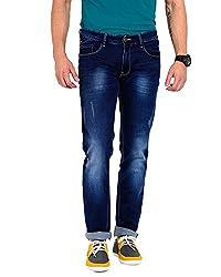 Sting Blue Slim Fit Stretchable Jeans -28
