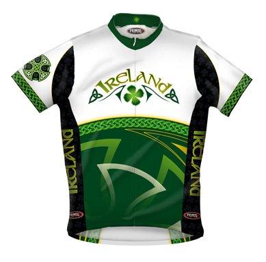 Buy Low Price Primal Wear 2012 Men's Ireland Original Short Sleeve Cycling Jersey – IRE1J10M (B001IDSGUE)