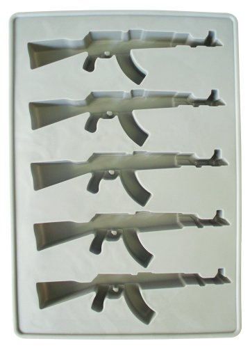 Southern Homewares AK47 Gun Ice Cube Tray