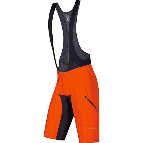 Gore Bike Wear Tspotr Power Trail 2In1 Pantaloncini+, Uomo, Arancione (Blaze Orange), XL