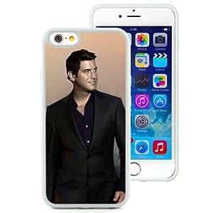 6 case,Unique Design Il Divo Smile Suits Sunset Sky White iPhone 6 4.7 inch TPU case cover