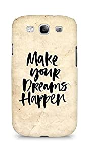 AMEZ make your dreams happen Back Cover For Samsung Galaxy S3 Neo