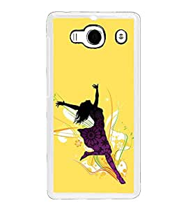 ifasho Dancing girl Back Case Cover for Redmi 2S