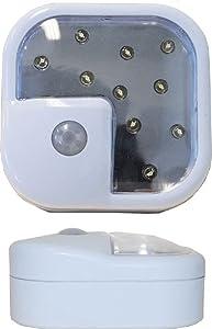 Wireless Motion Sensor Light - 10 Super-Bright LED