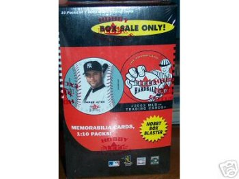 2003 FLEER HARDBALL BASEBALL CARDS HOBBY BOX