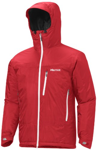 Marmot Trient Men's Insulated Synthetic Waterproof Jacket - Team Red, X-Large