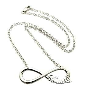 Silberton Lovatic Unendlichkeitzeichen 3mm 45cm Halskette