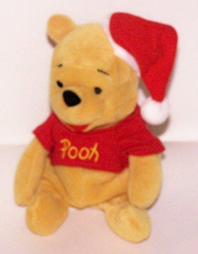 Disney Bean Bag Pooh As Santa - 1