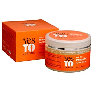 Yes To Carrots Pampering Hand & Nail Spa, 8.45-Ounce Tub
