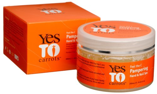 Yes To Carrots Pampering Hand & Nail Spa 250ml