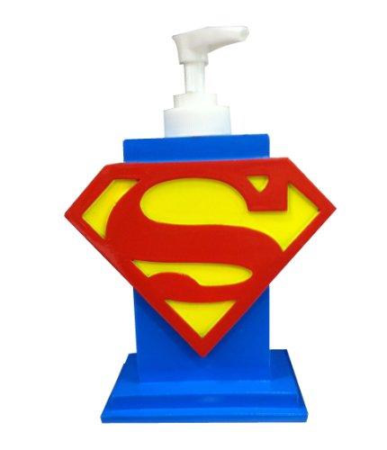 Superman Bathroom Accessories Superman Bathroom Accessory Set Trash Can Soap Holder Rinse Cup