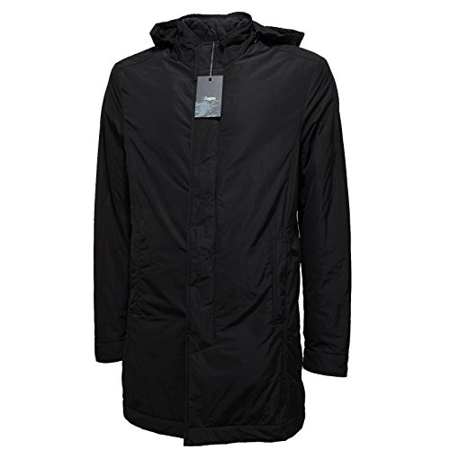 6765L giubbotto uomo nero linea ZZEGNA ZEGNA giacche coats men [M]