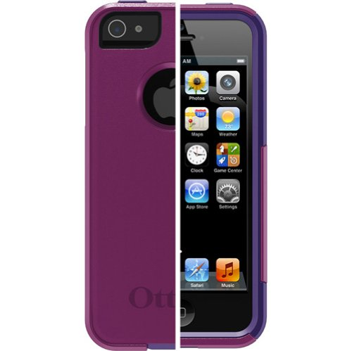 Special Sale OtterBox Commuter Series for iPhone 5 - Frustration-Free Packaging - Boom,Purple/Violet