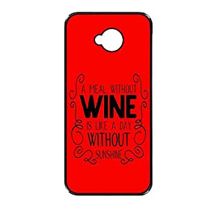 Vibhar printed case back cover for Sony Xperia C WineSunshine
