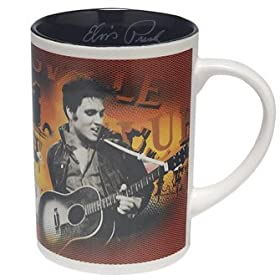 Elvis Presley XL 14oz Coffee Mug