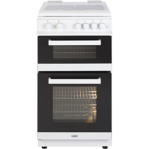 Valor V50GTCLWH1 500mm Twin Cavity Gas Cooker