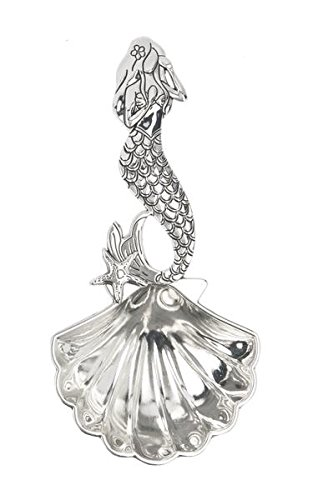 Mermaid Metal Tablespoon by Ganz (Mermaid Spoon Rest compare prices)