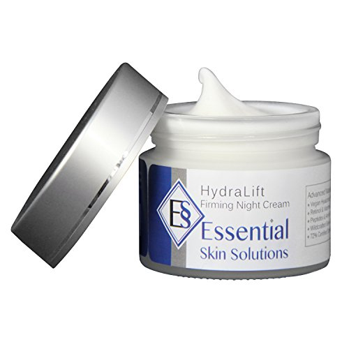 Hydralift Night Cream - Anti Wrinkle Facial Treatment With Hyaluronic Acid - Vitamin C E & A - Retinol - Green Tea - Advanced Nightly Repair Moisturizing Peptides Lifts - Brightens - Reduces Fine Lines And Wrinkles - Anti Aging Firming Moisturizer Is Deep