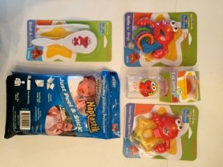 5 Piece Baby Beginnings Gift Set Sesame Street and Naptastik - 1