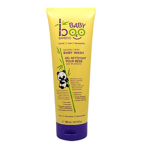 Boo Bamboo Baby Hair and Body Wash, 10.14 Fluid Ounce - 1