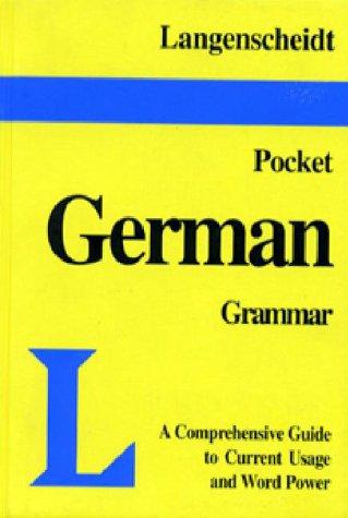 Pocket German Grammar (Pocket Dictionary)