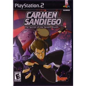 41BPCYFZZ9L. SL500 AA300  Download Carmen Sandiego: The Secret of the Stolen Drums 2003 – PS2