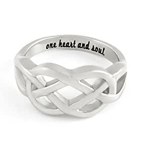 infinity ring for or boyfriend