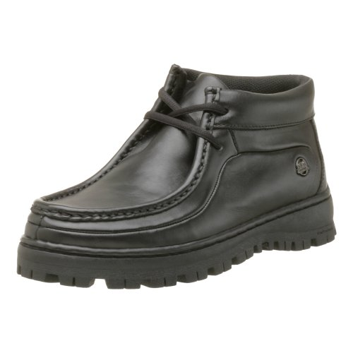 Stacy Adams Dublin II Moc Toe Boot - Black Smooth 11 M, Blac