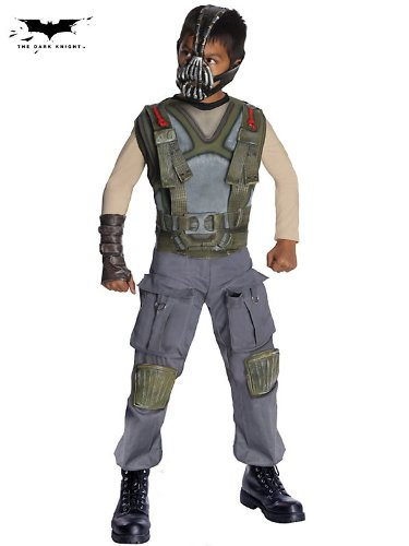 Batman Dark Knight Rises Child's Deluxe Bane Costume and Mask