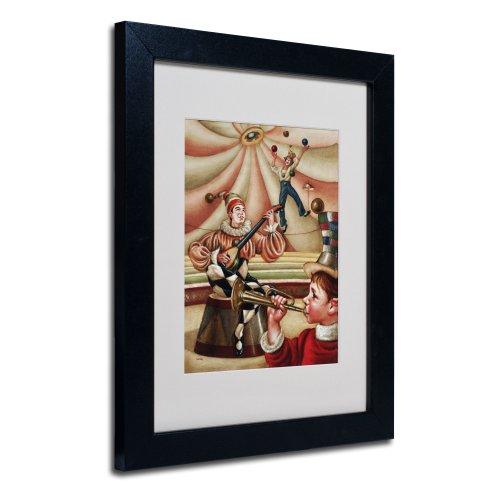 Trademark Fine Art Fiesta Allegro Artwork By Edgar Barrios, Black Frame, 11 By 14-Inch front-503850