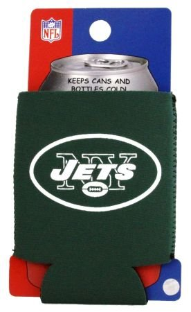 NEW YORK JETS NFL CAN KADDY KOOZIE COOZIE COOLER at Amazon.com