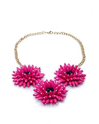 Fracomina Mini Collar  Fucsia