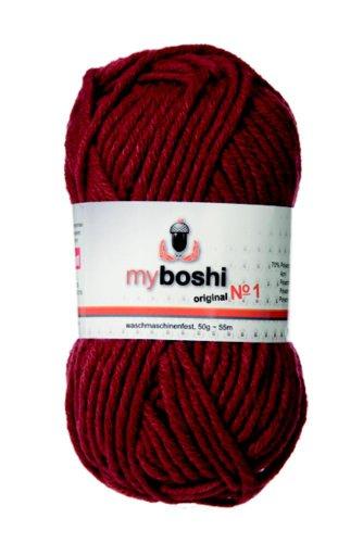 Speichern 50 g myboshi Wolle zum Häkeln oder Stricken von Mützen (133 rost)