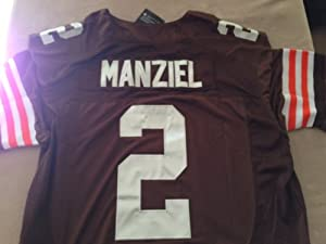 Johnny Manziel Cleveland Browns On-Field Jersey Size 44 Large